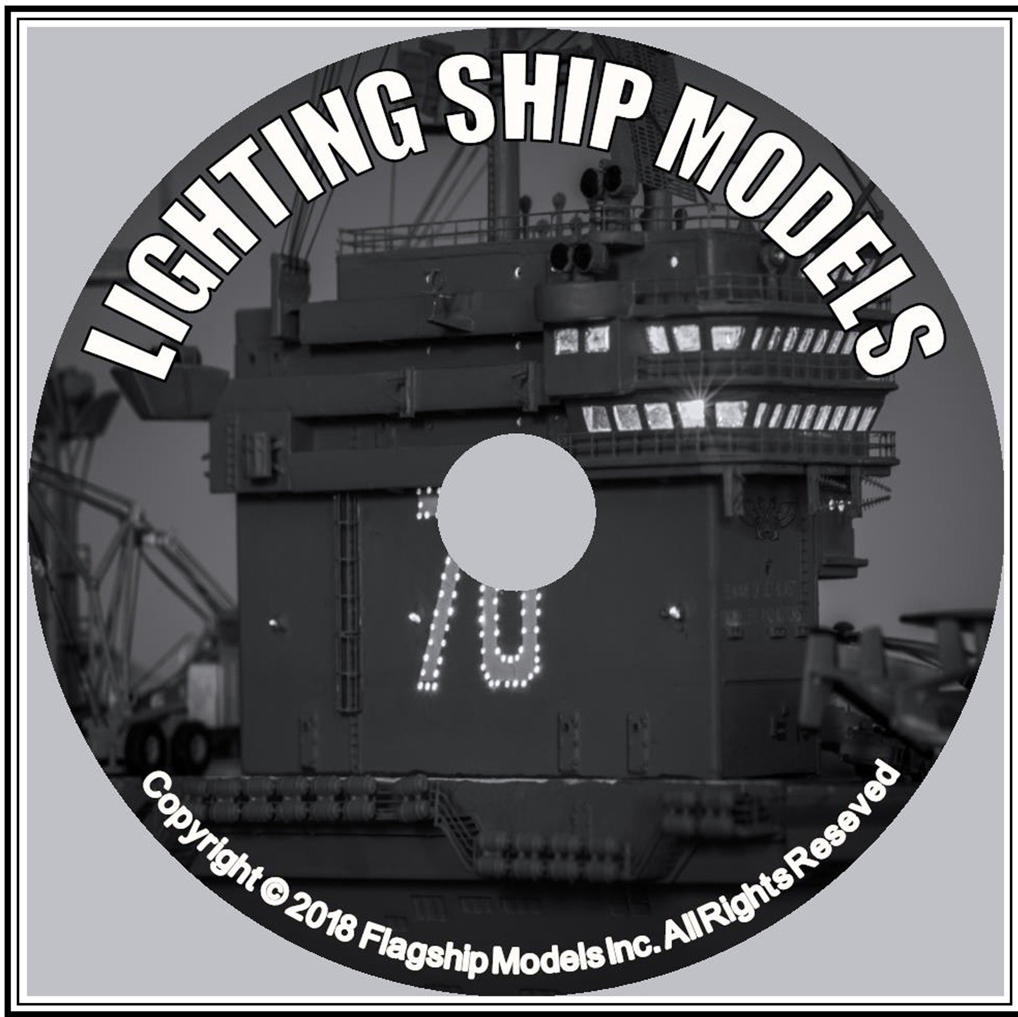 HOW TO CD: LIGHTING SHIP MODELS by Dave Kopielski