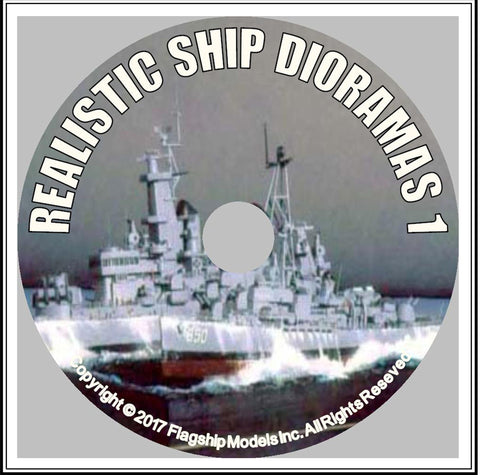 HOW TO CD: BUILDING REALISTIC SHIP DIORAMAS by Ray Bean (12 pages)