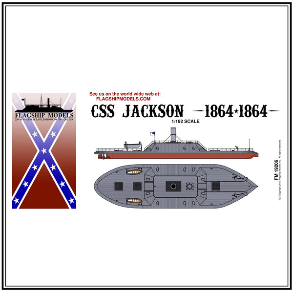 "CSS JACKSON (13.5"" long, detail set incl.)"