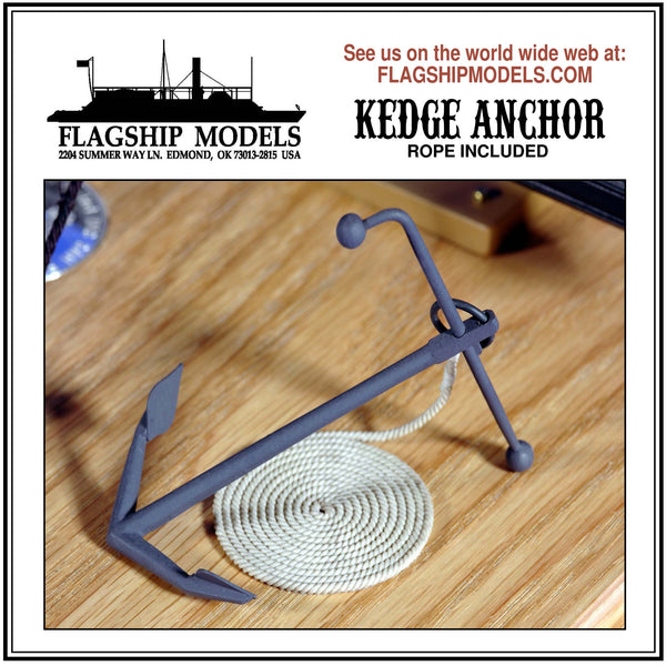 "KEDGE ANCHOR (3"" long)"