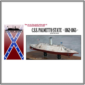"CSS PALMETTO STATE ironclad ram (10"" long, detail set incl.)"