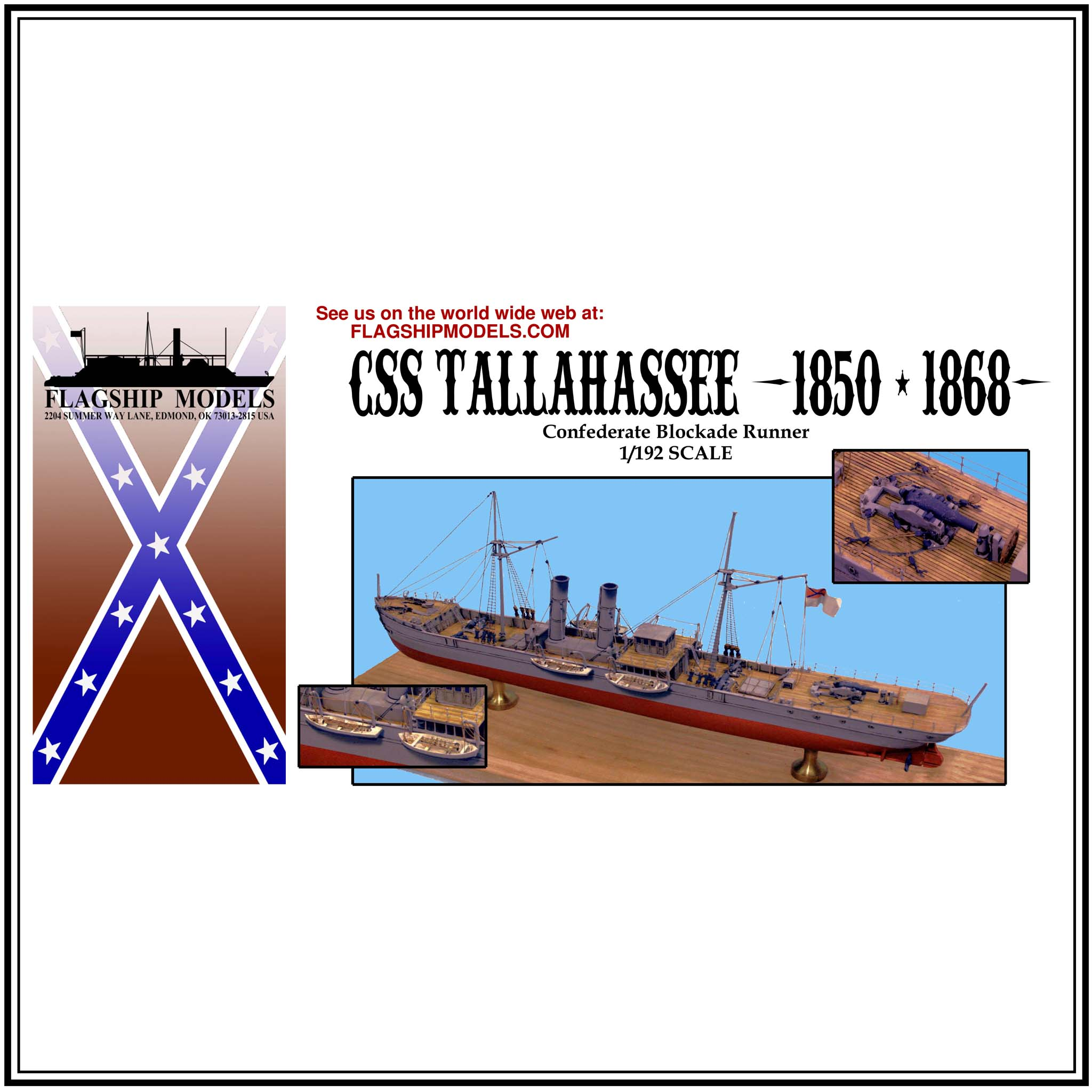 "CSS TALLHASSEE/ATALANTA (14.0"" long, detail set incl.)"
