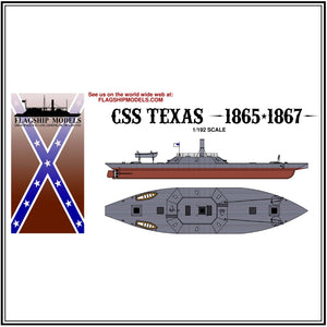 "CSS TEXAS (13.25"" long, detail set incl.)"
