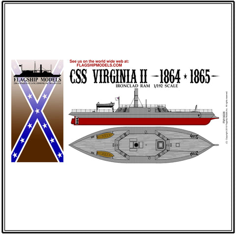 "CSS VIRGINIA II (12"" long, detail set incl.)"