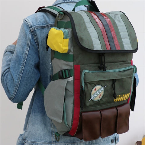 Sideview of Carrying Bag