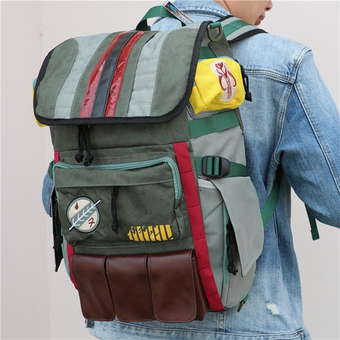 Man Carrying BackPack