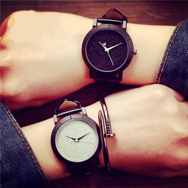 Romantic Starry Sky Watches - Hellopenguins
