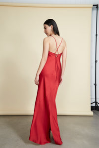 Jude Gown Red