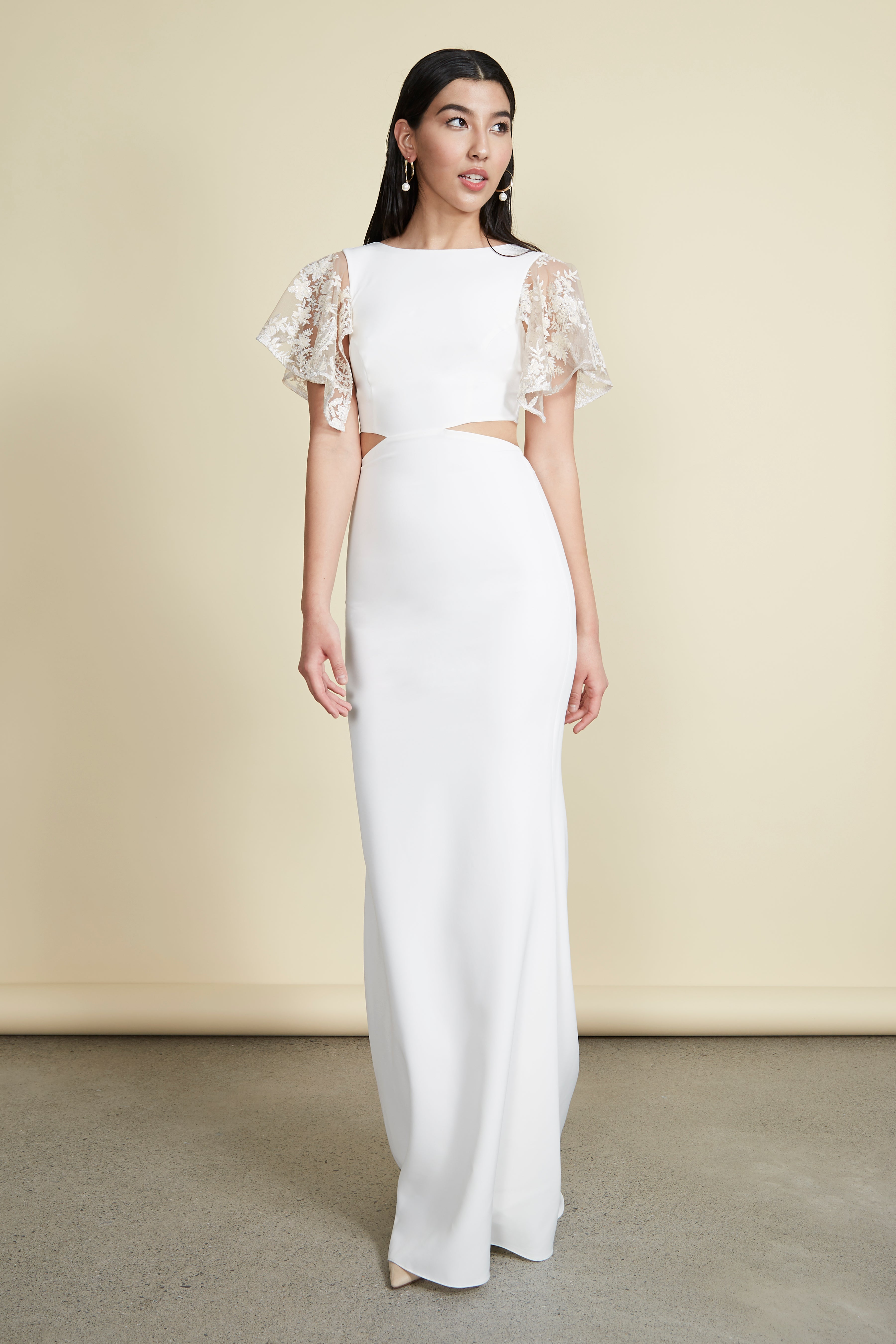 Chloe Gown Ivory