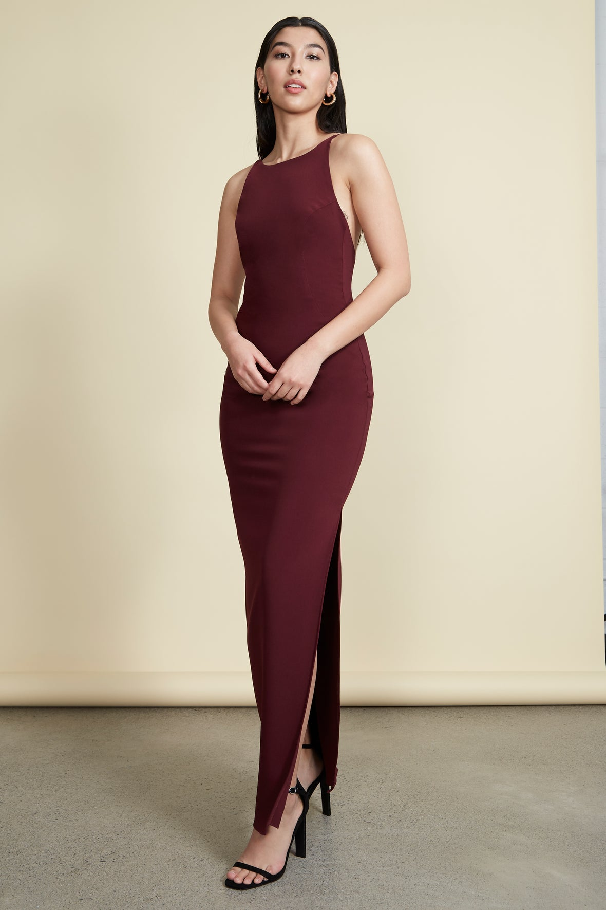 Maria Gown Burgundy