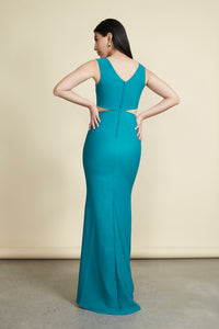 Victoria Gown Emerald Green