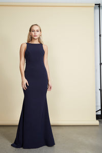 Janet Gown Navy