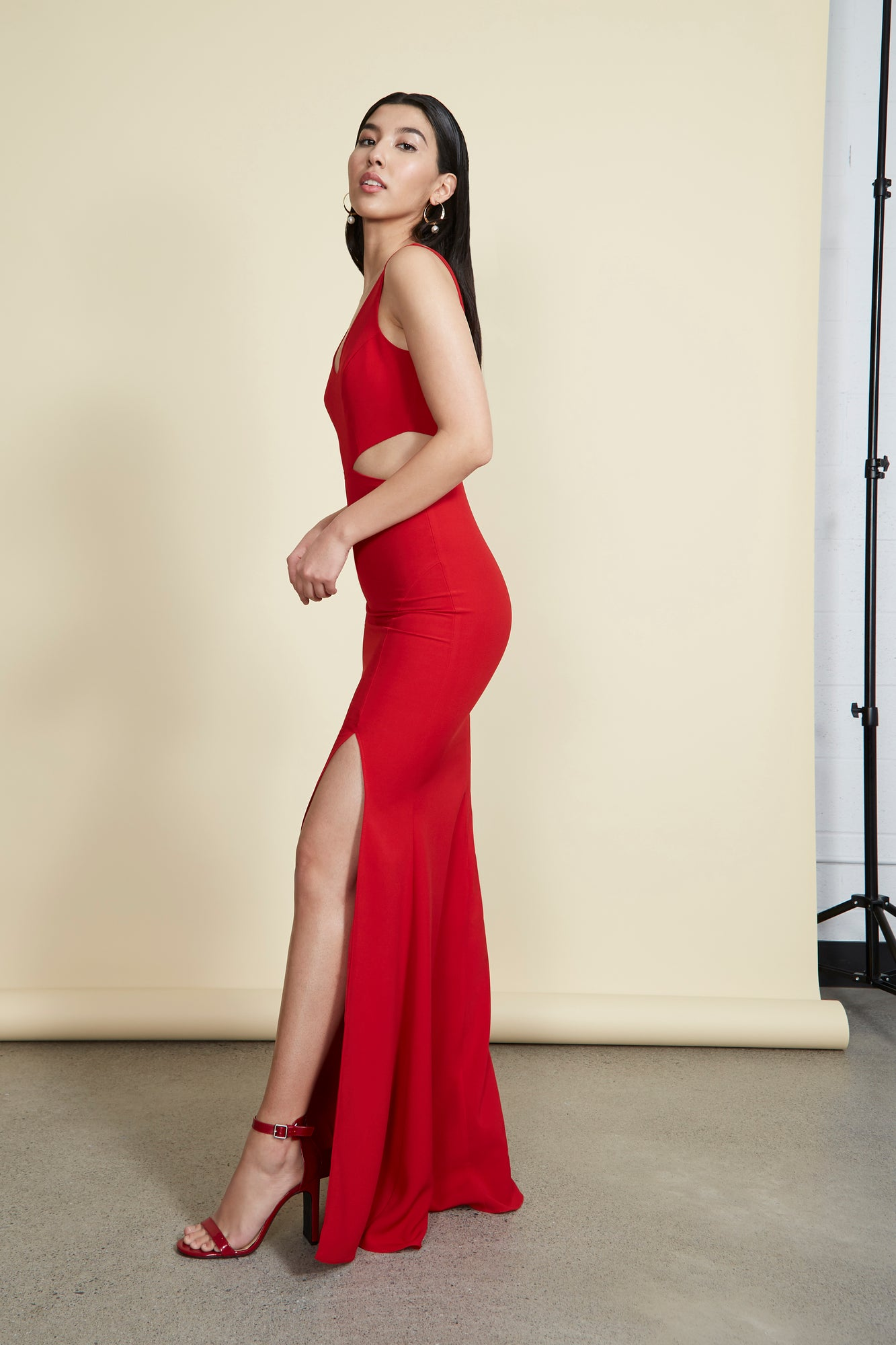 Kiira Gown Red
