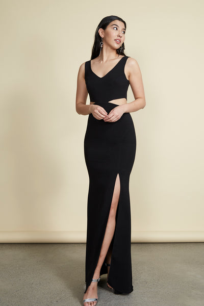 Kiira Gown Black