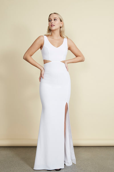 Kiira Gown White