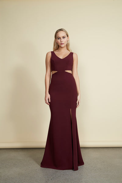 Kiira Gown Burgundy