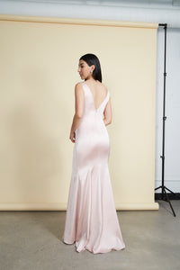 Sami Gown Dusty Pink