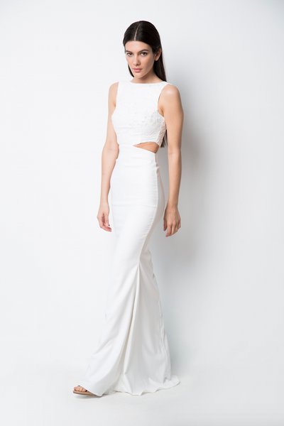 Bridal Power Cut-Out Gown
