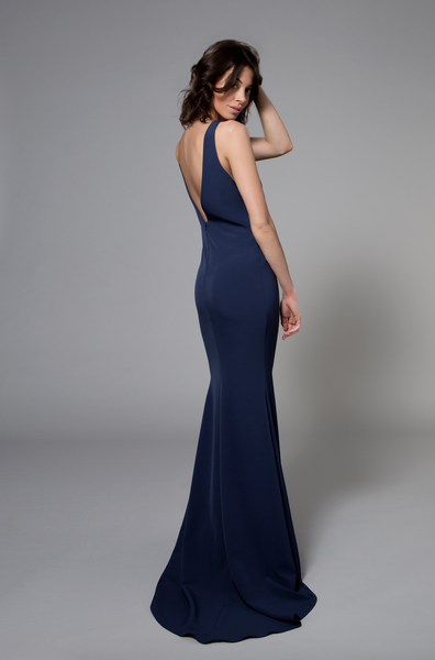 Katie Gown Blue