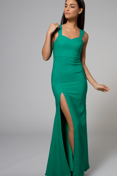 Aria Gown Emerald Green