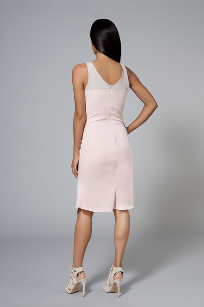 Chloë Dress Blush Pink