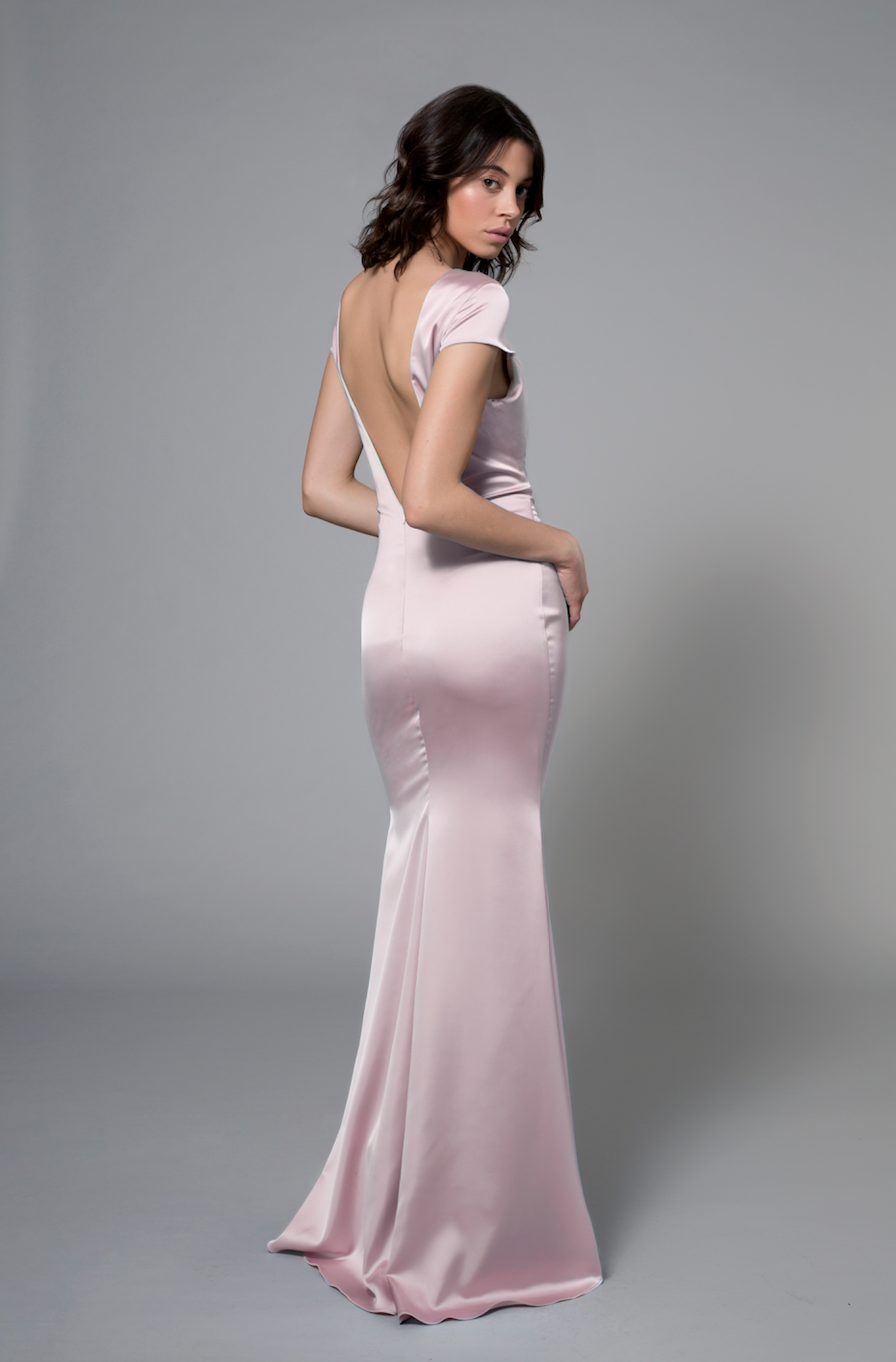 Bella Gown Blush Pink
