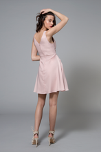 Brooklyn Dress Blush Pink