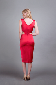 Victoria Dress Red