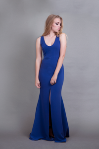 Carrie Gown Royal Blue