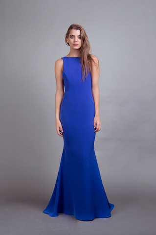 Katie Gown Royal Blue