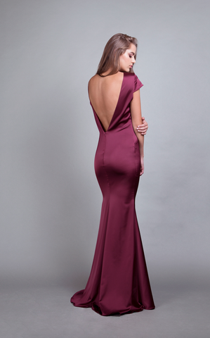 Bella Gown Burgundy