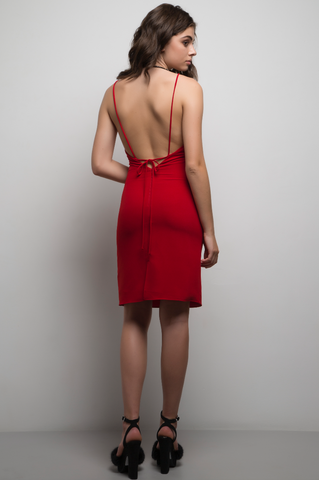 Maria Dress Red