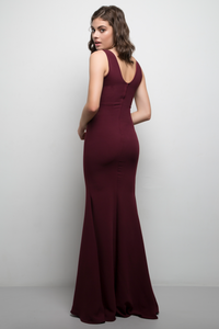 Carrie Gown Burgundy