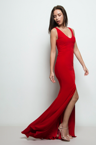 Carrie Gown Red