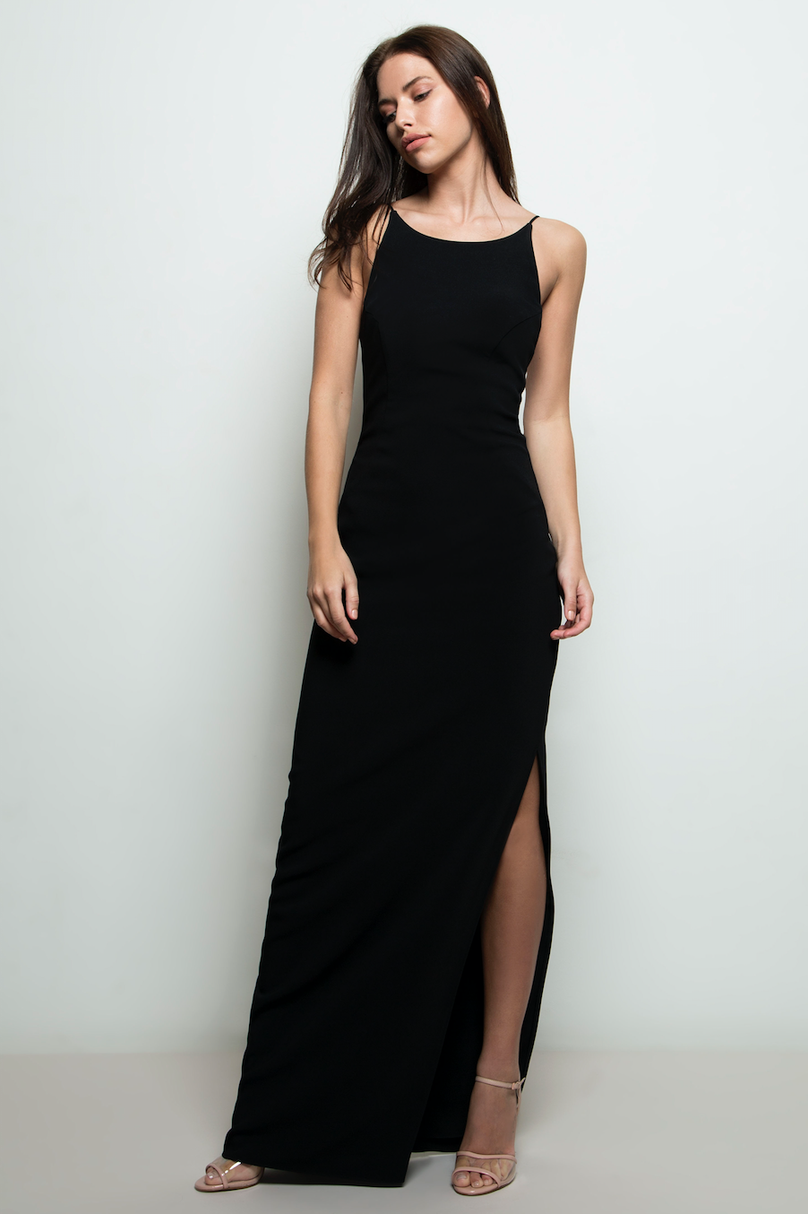 Maria Gown Black