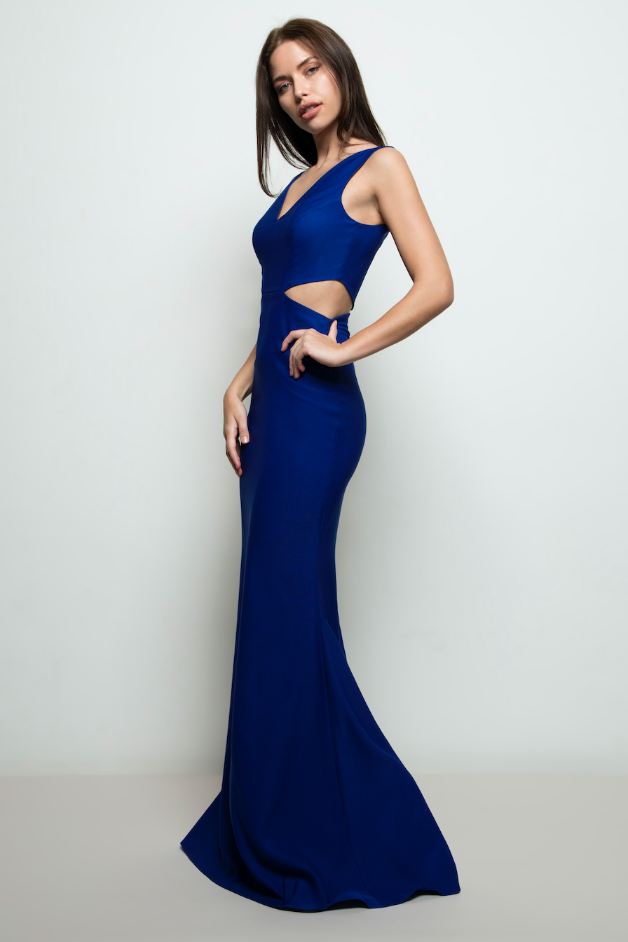 Victoria Gown Royal Blue