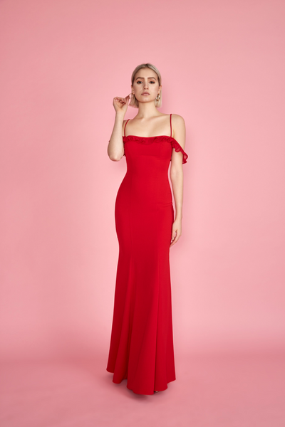 Sasha Gown Red