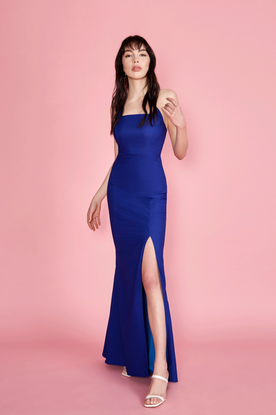 Kavi Gown Royal Blue