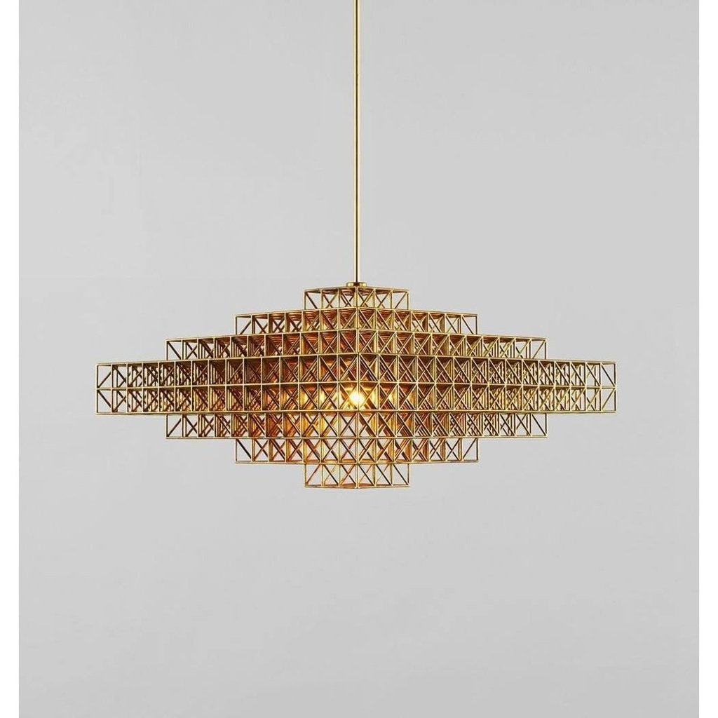 Gridlock Pendant Lamp - Reproduction | GFURN - Decor and Gifts Galore