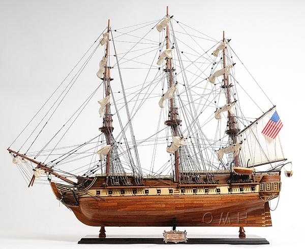 Old Modern Handicrafts USS Constitution Exclusive Edition - Decor and Gifts Galore