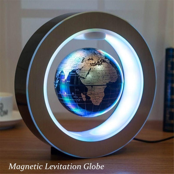 4 Inch Illuminated Magnetic Levitation Floating Globe - Decor and Gifts Galore