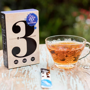 Blueberry Organic Instant Green Tea - Tea In 3 Seconds™
