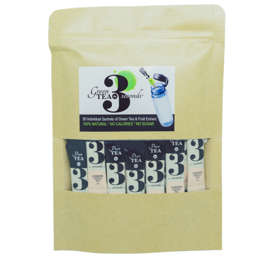 Jasmine Organic Instant Green Tea-Bulk Sachets - Tea In 3 Seconds™