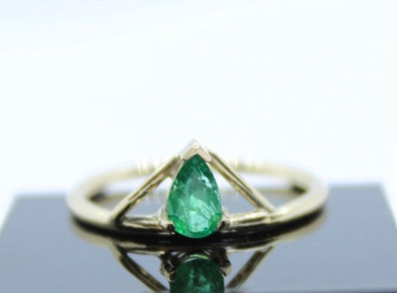Gold and Emerald ring - Sam Hawkins