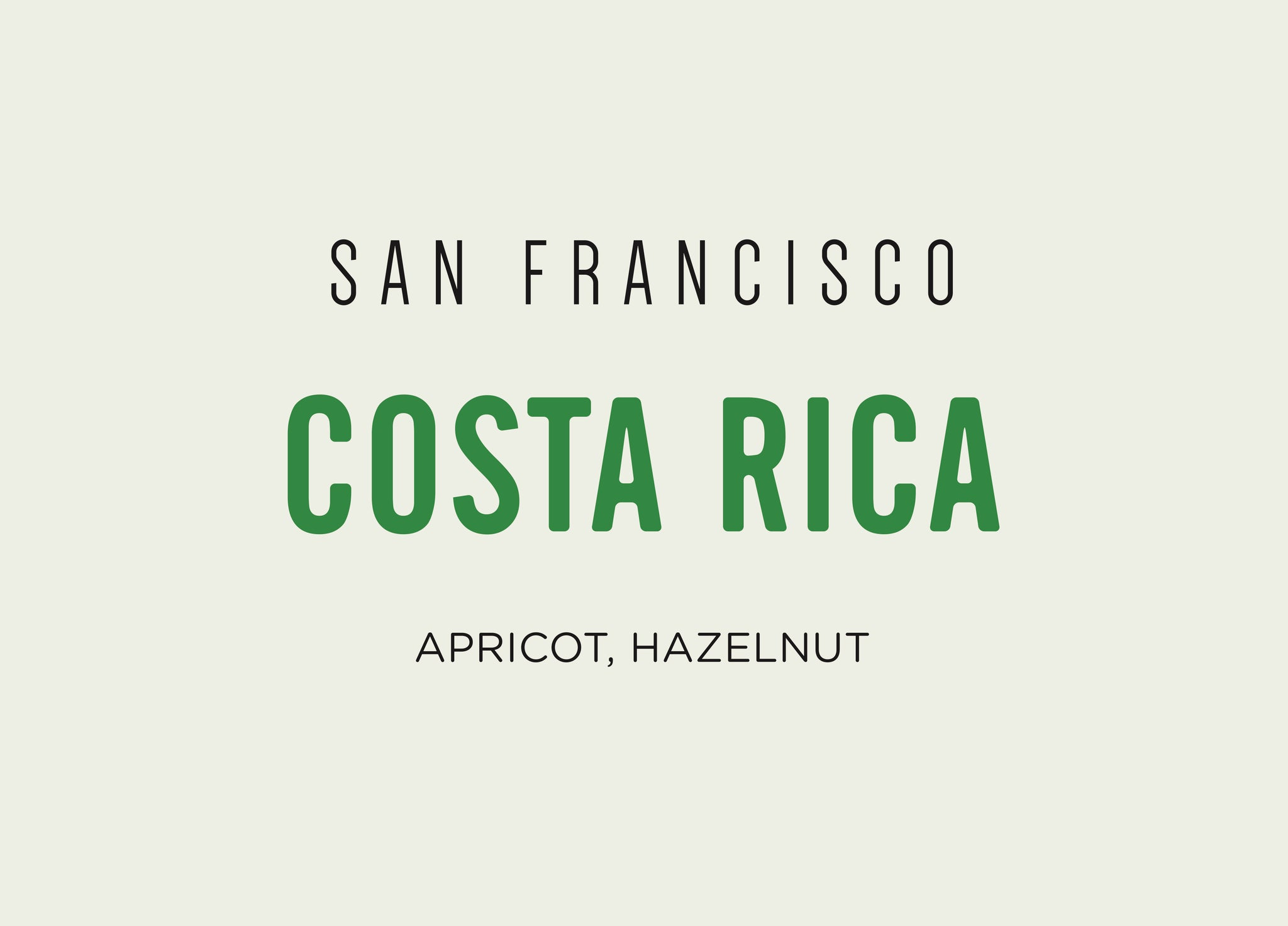 Costa Rica - San Francisco