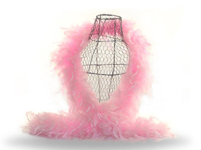 Turkey Feather Boa - Chandelle Feather Boas - Ostrich.co.za