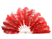Burlesque Feather Fan - Single Layer - Ostrich Feather Fans - Ostrich.co.za