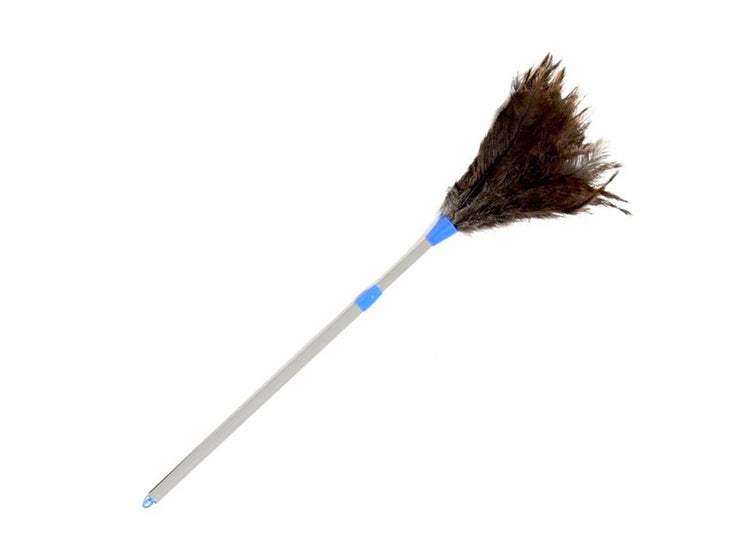 Telescoping Plastic Handle Ostrich Feather Duster - Ostrich Africa