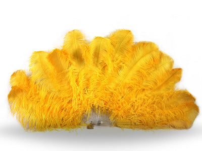 Fancy Burlesque Fan - Single Layer - Ostrich Feather Fans - Ostrich.co.za