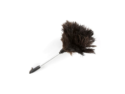 Ostrich Feather Duster Aluminium (Non-Ext) - Ostrich Feather Dusters - Ostrich.co.za